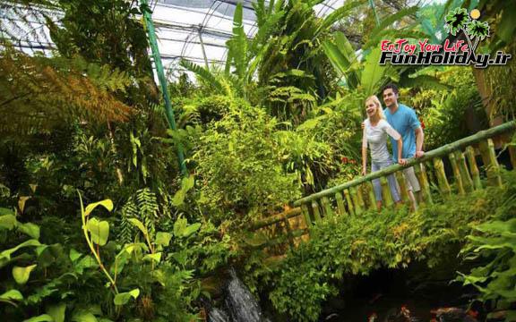 پارک پروانه کوالالامپور  بزرگترین باغ پروانه دنیا در مالزی