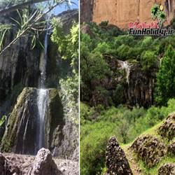 آبشار دژ محمد علی خان