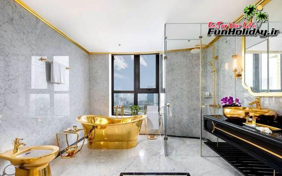 هتل دولچه هانوی اولین هتل روکش طلا در جهان