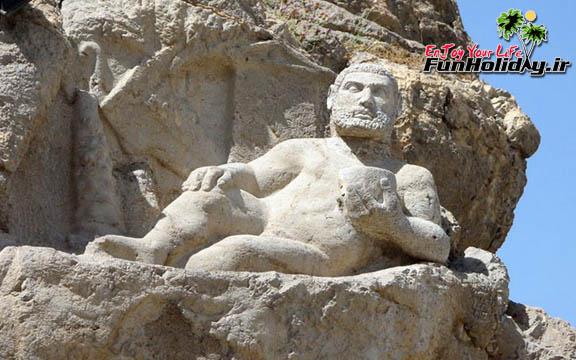 از هرکول 2200 ساله کرمانشاه، بیشتر بدانید