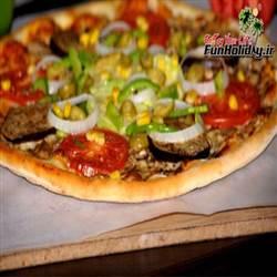 فست فود پیتزا سبز