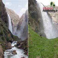 آبشارهای سبزکوه