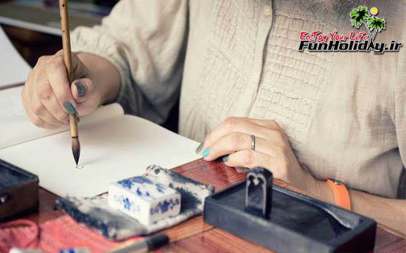 دست خطی محرمانه که فقط زنان قادر به رمزگشایی آن هستند!