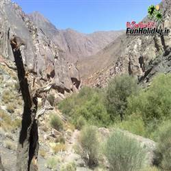 آبشار دره وامق آباد