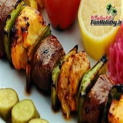 رستوران گل محمدی