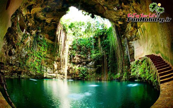 سِنِتوس (Cenotes)، مکزیک