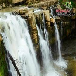 آبشار تیرکن یا هفت آبشار