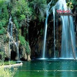 آبشار ایج در مازندران