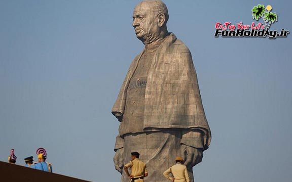 هند رکورد بلندترین مجسمه دنیا را شکست