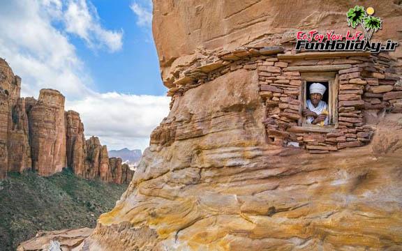 کلیساهای اتیوپی، عبادتگاه هایی برای صخره نوردان