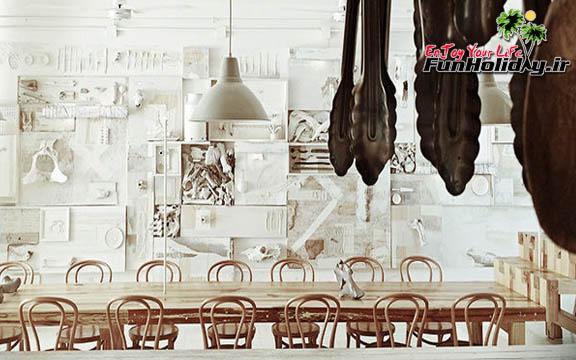 ترسناک یا جالب؟ رستورانی ساخته شده از استخوان