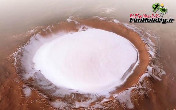 اسکی روی یخ در مریخ