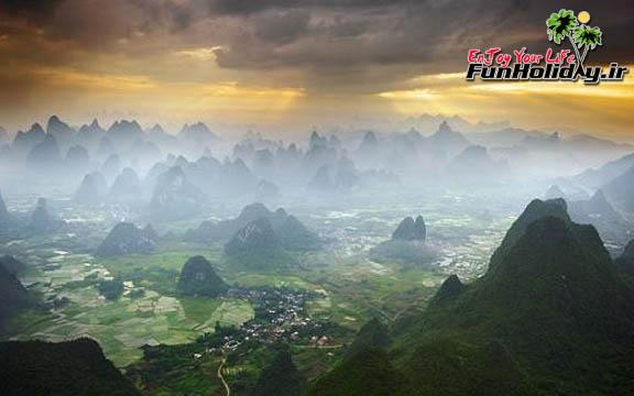 روستایی رویایی در چین