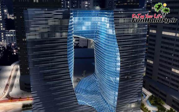 تنها هتلی که زاها حدید در دبی طراحی کرده، بهزودی افتتاح میشود