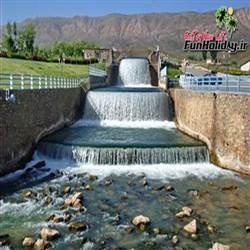 آبشار چشمه لنگان