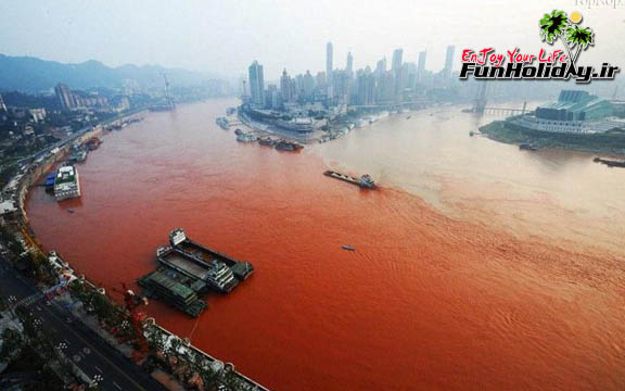 دریاچه خون در ژاپن