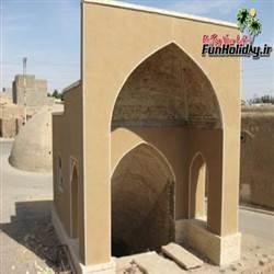 آب انبار تاریخی سفید شهر (کاشان)