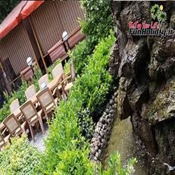 باغ رستوران مجلل طاووس