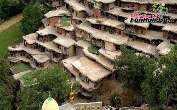 روستای زرگر ، روستای ایرانی اروپایی