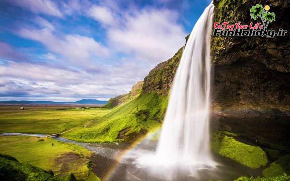 بزرگترین آبشار ایسلند