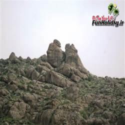 سنگ اوغلان قز روستای خساره