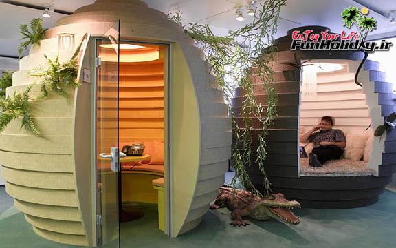 دفتر گوگل در زوریخ، فضایی بی نظیر و خیره کننده