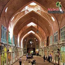 بازار تبریز (بزرگترین بازار سرپوشیده جهان)