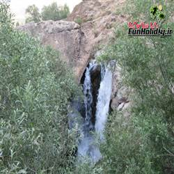 آبشار روستای مصیر