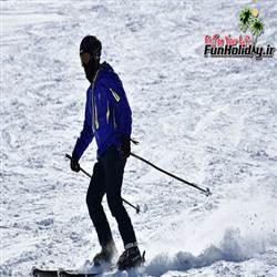 پیست اسکی پاکل شازند